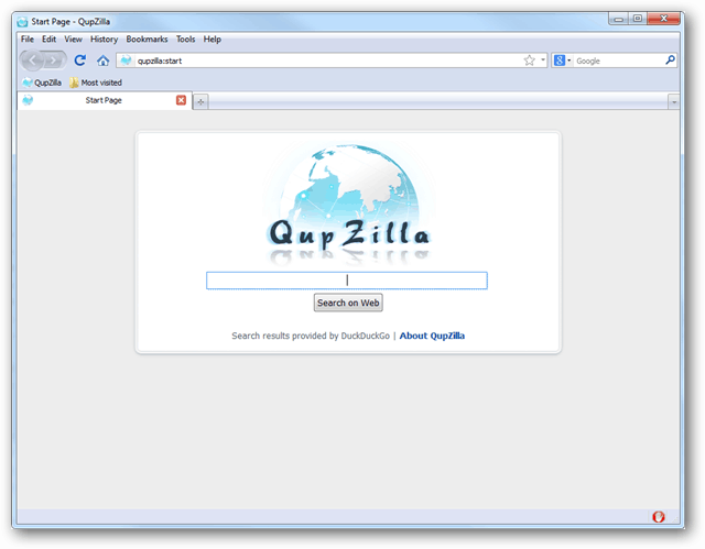 qupzilla screenshot
