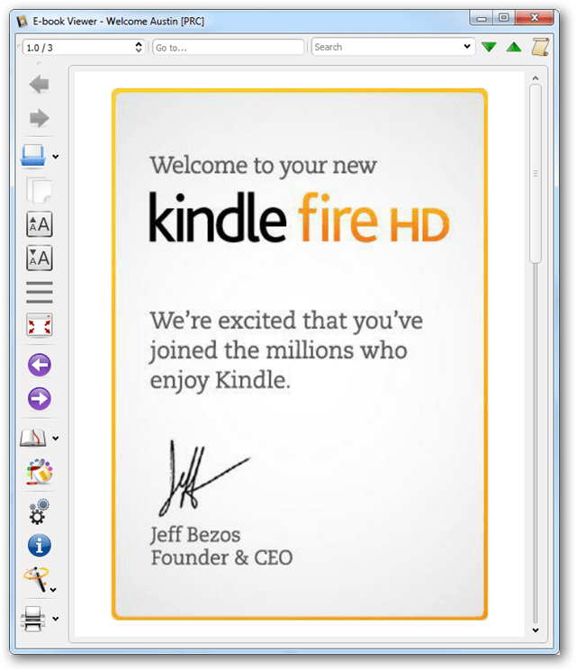 calibre ebook reader