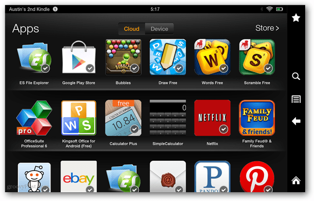How to Add Apps to Kindle Fire via the Web