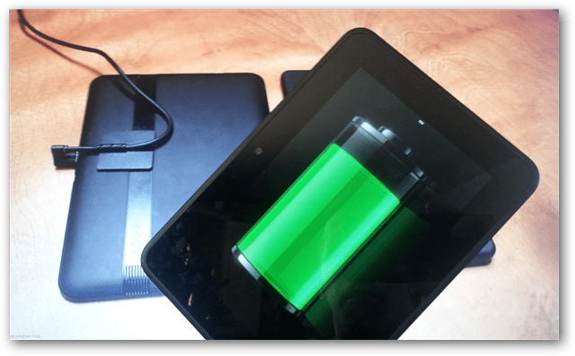 Kindle Fire HD battery saving tips