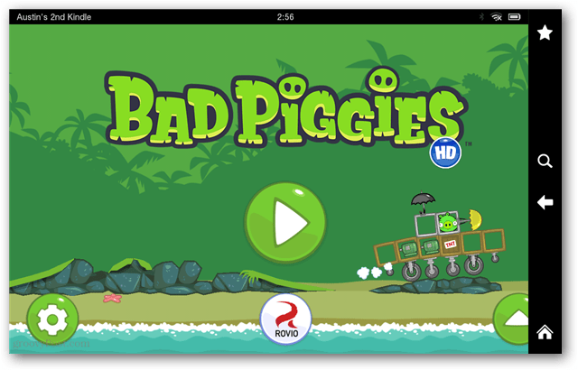 bad piggies on kindle fire hd