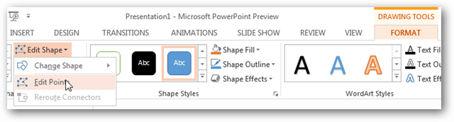 How to Create Custom Shapes in a PowerPoint 2013 Presentation