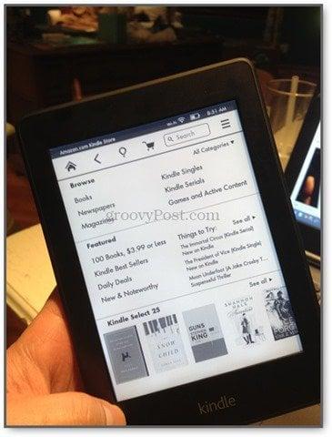 Kindle Paperwhite Amazon Kindle Store