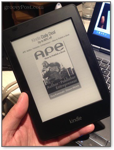 kindle paperwhite offers are not that annoying