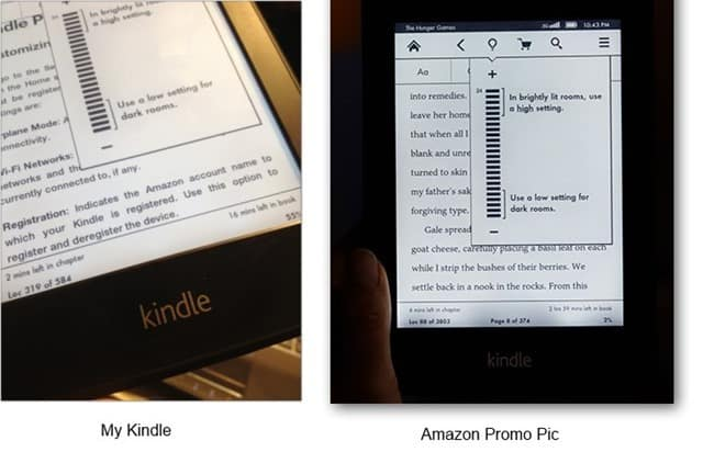 kindle paperwhite illumination issues are not that pronounced in later production devices