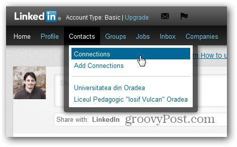 linkedin remove contact connections