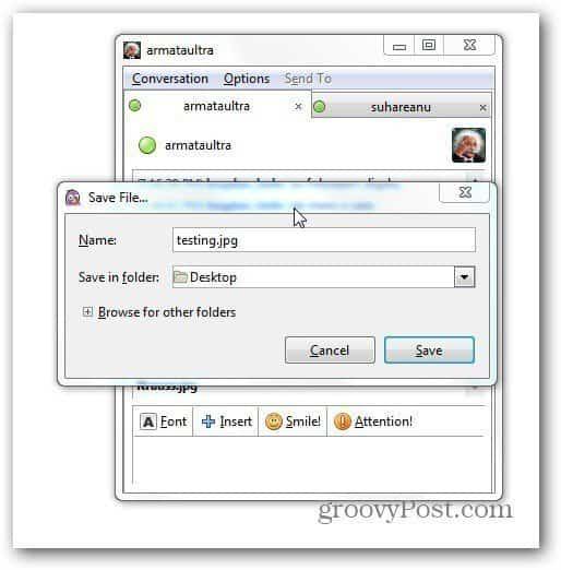 pidgin file transfer