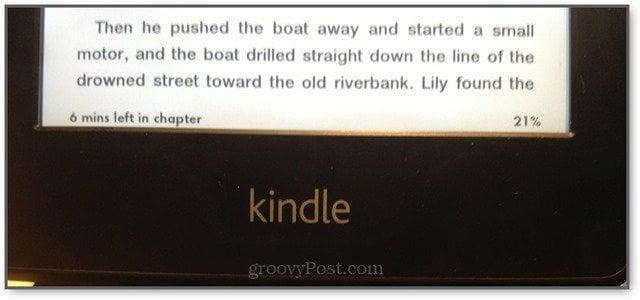 Kindle Reading Progress