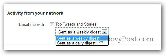twitter settings email notifications activity from network