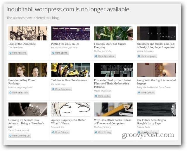 wordpress com blog deleted