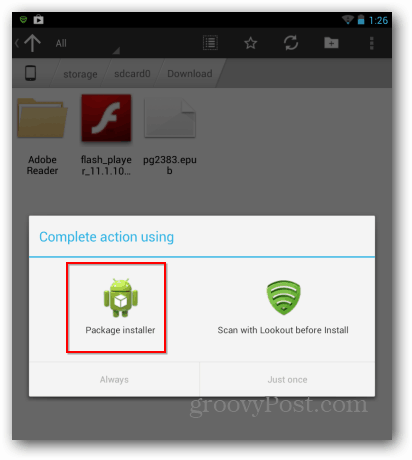 How To Install Adobe Flash on the Google Nexus 7