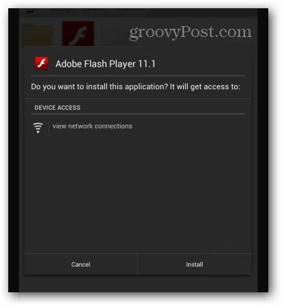 How To Install Adobe Flash on the Google Nexus 7