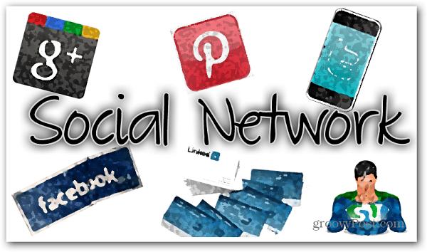 Favorite Social Network