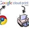 Google Cloud Print Nexus 7