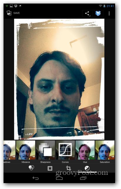 Nexus 7 exposure