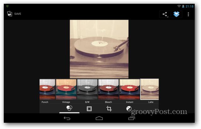 Nexus 7 filters