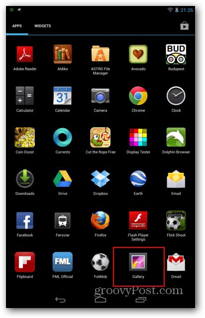 Nexus 7 gallery