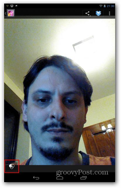 Nexus 7 image filters icon