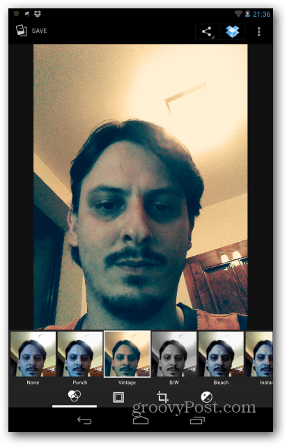 Nexus 7 image filters