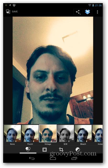 Nexus 7 image filters