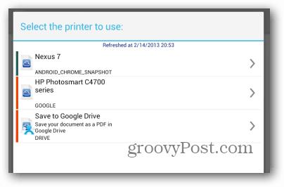 Print Nexus 7