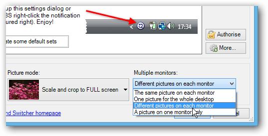 Separate Monitors