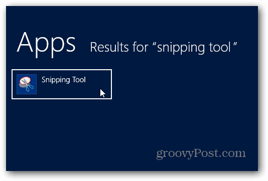 Snipping Tool Resultes