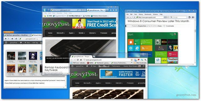 Web browsers poll