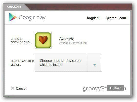 avocado android install