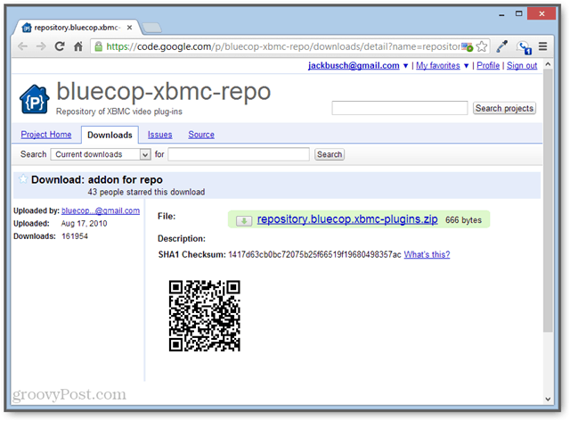 the bluecop xbmc repo is free on google code
