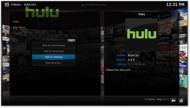 hulu on the raspi