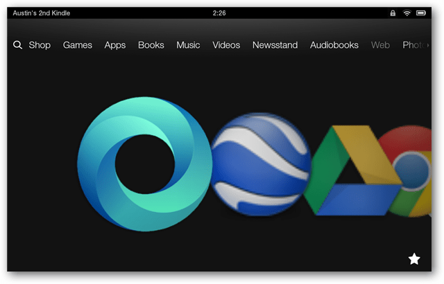 google apps on the Kindle Fire HD