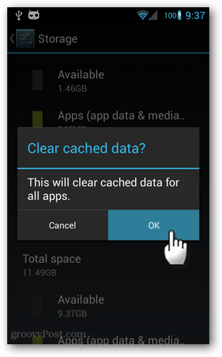 How to Clear Out All Cached App Data on Android 4.2+