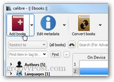 add books