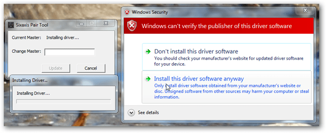 install software