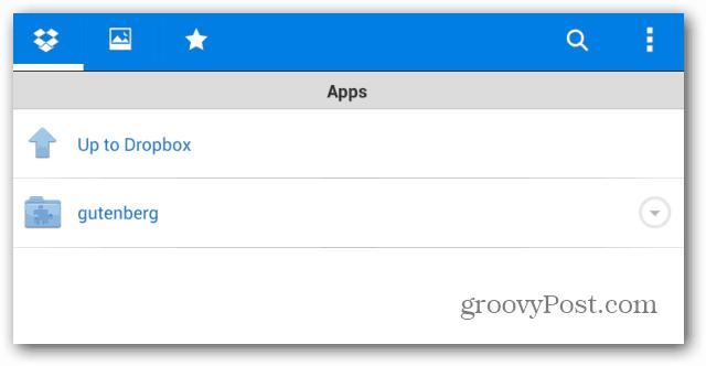 Apps gutenberg