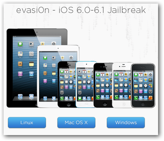 Evasi0n iOS Jailbreak