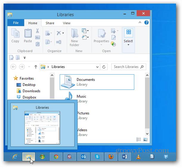 File Explorer Libraries