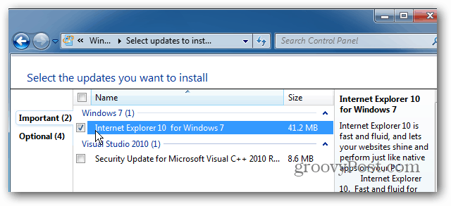 How To Revert Back To Internet Explorer 9 From Internet Explorer 10 Preview For Windows 7
