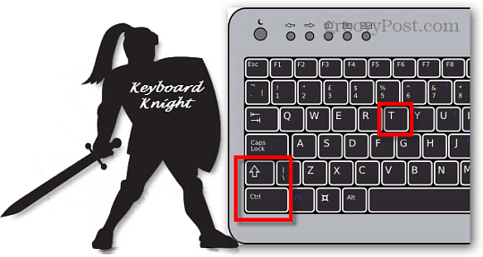 Keyboard Knight