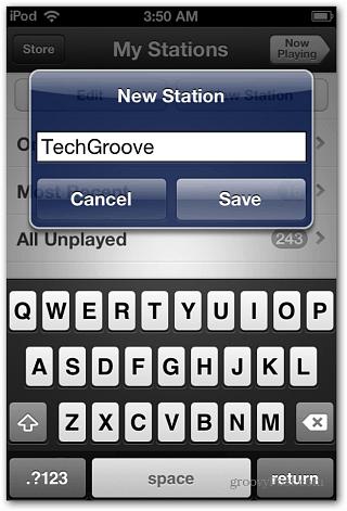 Name New Station