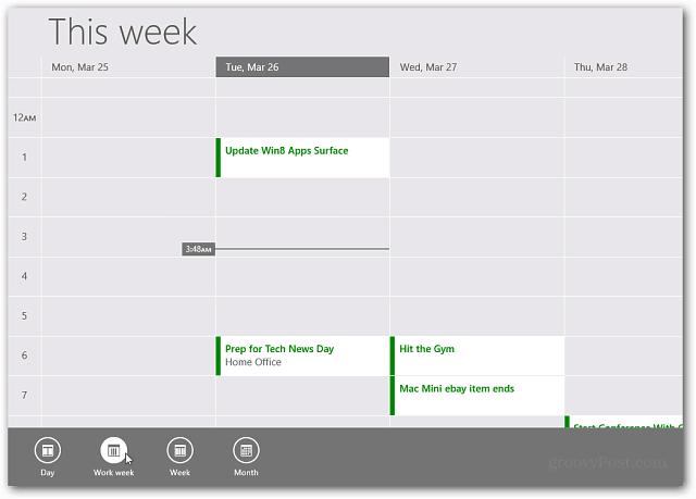 RT Calendar Update