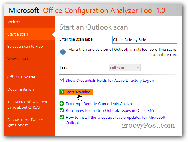 Fix Microsoft Office Problems with Office Configuration