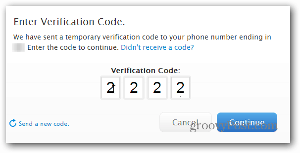 Verification Code