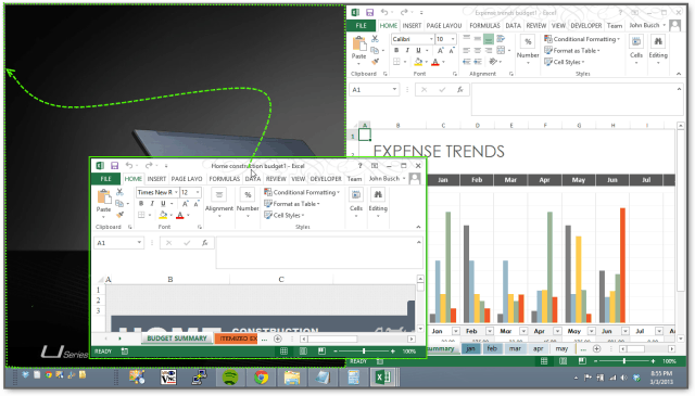 New! Excel 2013 Lets You View Spreadsheets Side-by-Side in