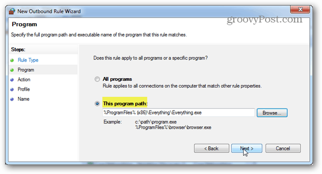 this program path