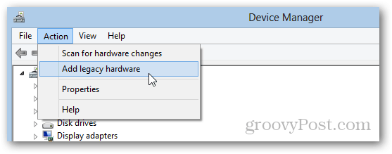 microsoft windows loopback adapter step-by-step installation for windows 8