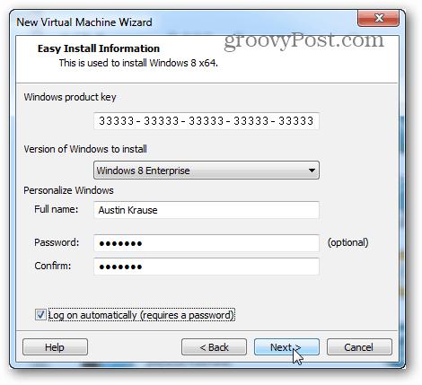 easy install information