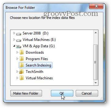 browser for folder