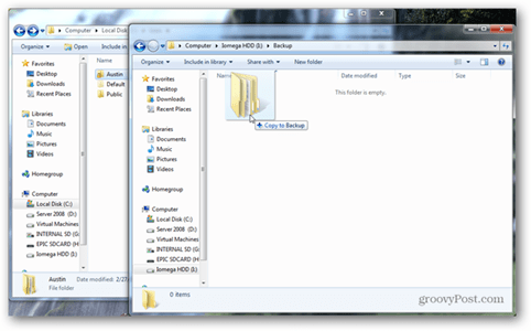 manual software data recovery